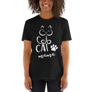 mockup 08df9506 300x300 - Cat Mama Short-Sleeve Unisex T-Shirt
