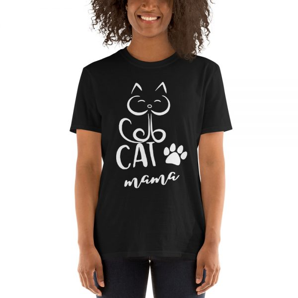 Cat Mama Short Sleeve Unisex T Shirt