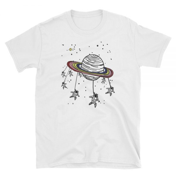 ASTROUNOT AND PLANET Short Sleeve Unisex T Shirt