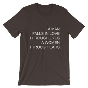 mockup 3c8c3e12 300x300 - A man falls in love Short-Sleeve Unisex T-Shirt