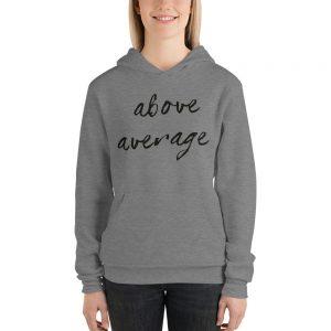 mockup 7f690683 300x300 - Above Average Unisex hoodie