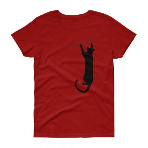 Cat Hold On Women's short sleeve t shirt
