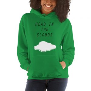 mockup cdb8ca3a 300x300 - Head in the clouds Hooded Sweatshirt