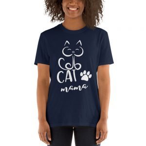 mockup d28e9289 300x300 - Cat Mama Short-Sleeve Unisex T-Shirt
