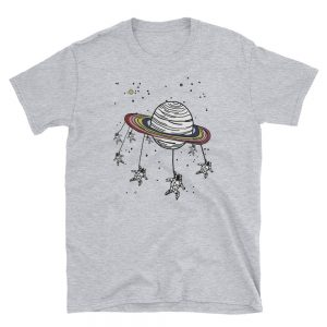 mockup ee8e4981 300x300 - ASTROUNOT AND PLANET Short-Sleeve Unisex T-Shirt