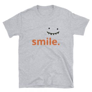 mockup f7043352 300x300 - Aesthetic Smile Short-Sleeve Unisex T-Shirt