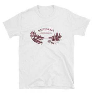 Sadifornia Short-Sleeve Unisex T-Shirt