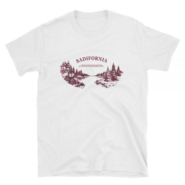 Sadifornia Short Sleeve Unisex T Shirt