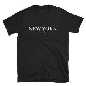 New York USA  Short-Sleeve Unisex T-Shirt
