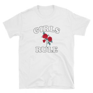 mockup 68ae9964 300x300 - Rose Girls Rule Short-Sleeve Unisex T-Shirt