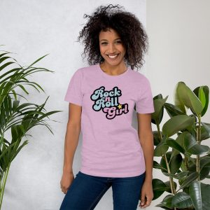 mockup 6cd0a1ca 300x300 - Rock n Roll Girl Short-Sleeve Unisex T-Shirt
