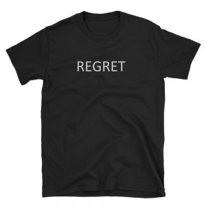 mockup 77358155 300x300 - Regret Short-Sleeve Unisex T-Shirt