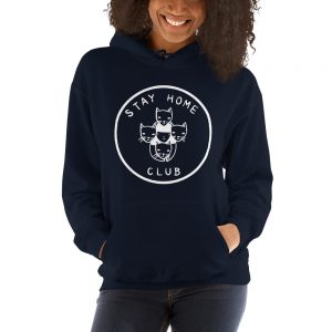 mockup 80a8ff07 300x300 - Stay Home Club Hooded Sweatshirt