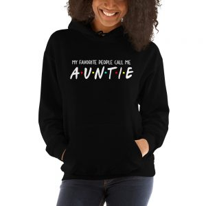 mockup 81e9c396 300x300 - My Favorite People Call Me Auntie Hooded Sweatshirt