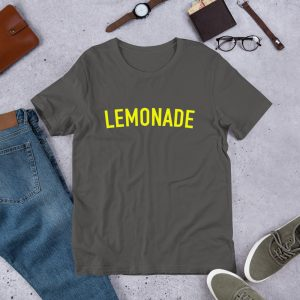 mockup 8498d68e 300x300 - lemonade yellow  Short-Sleeve Unisex T-Shirt