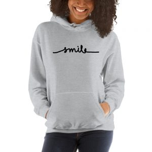 Smile Hooded Sweatshirt