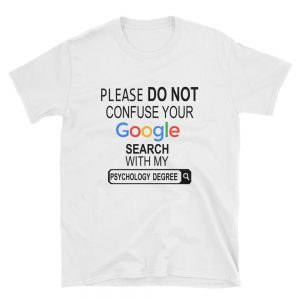 mockup 9f45d1ab 300x300 - Please do not confuse your google search my Psychology degree Short-Sleeve Unisex T-Shirt