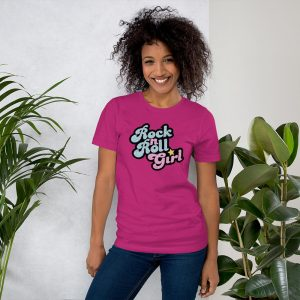 mockup afdbb97c 300x300 - Rock n Roll Girl Short-Sleeve Unisex T-Shirt