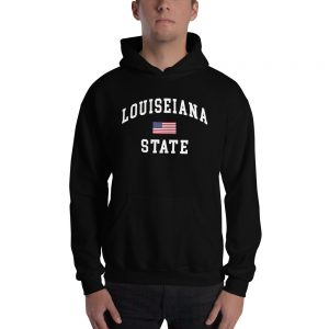 Louiseiana State Hooded Sweatshirt