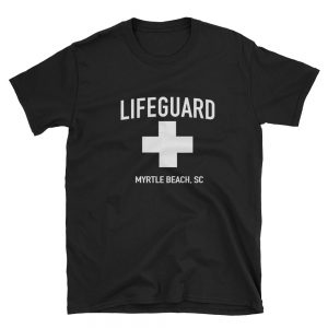 mockup e2767138 300x300 - Life Guard Myrtle Beach sc  Short-Sleeve Unisex T-Shirt