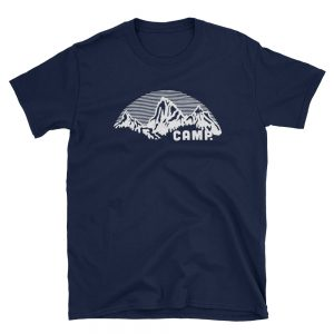 Rocky Mountain Camp Short-Sleeve Unisex T-Shirt