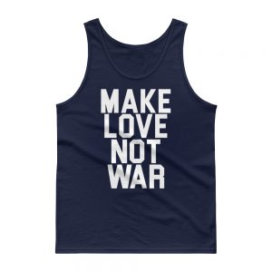 mockup 36127b9a 300x300 - Make Love Not War  USA Tank top