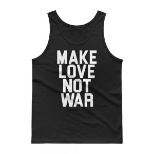 Make Love Not War USA Tank top