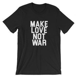 mockup bf8f01f5 300x300 - Make Love Not War  USA Short-Sleeve Unisex T-Shirt