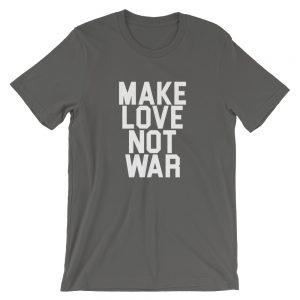 mockup e1e6d953 300x300 - Make Love Not War  USA Short-Sleeve Unisex T-Shirt