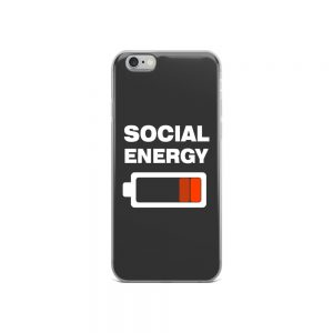 Social Energy iPhone Case