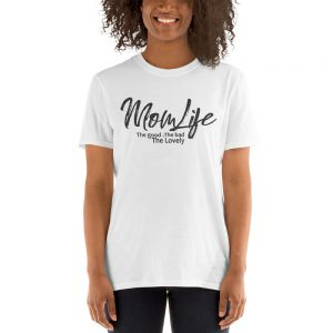 Mom Life Gildan 64000 Unisex Softstyle T-Shirt with Tear Away Label
