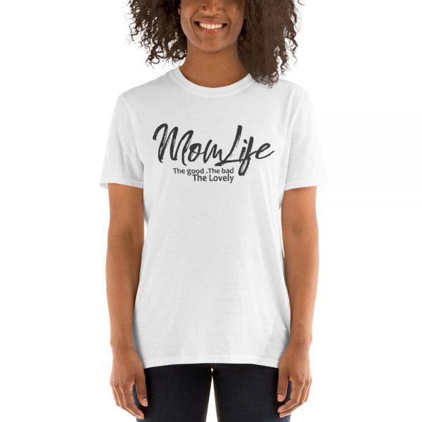Mom Life Gildan 64000 Unisex Softstyle T Shirt with Tear Away Label