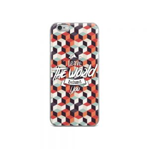 mockup 52046d81 300x300 - Leave the world behind iPhone Case