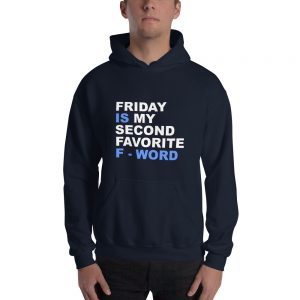 mockup 5f6af4f9 300x300 - Friday is my second favorite F word Gildan 18500 Unisex Heavy Blend Hooded Sweatshirt