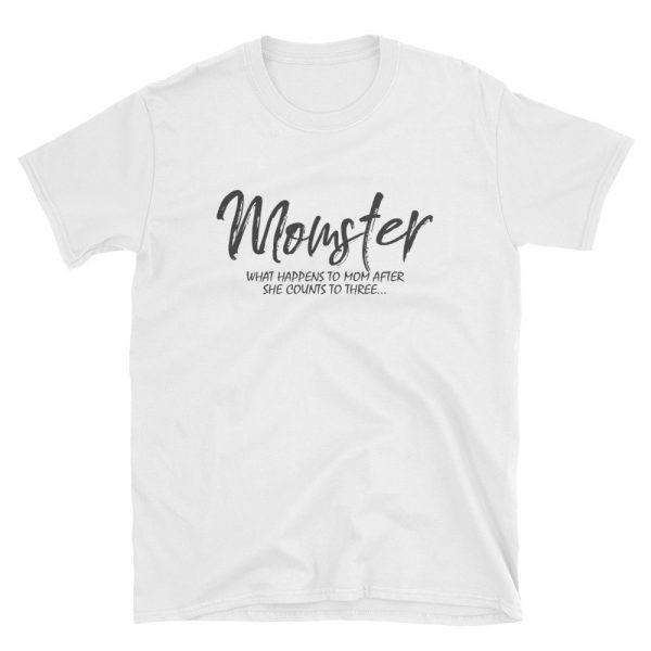 Momster mom live Gildan 64000 Unisex Softstyle T Shirt with Tear Away Label