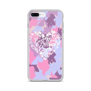 Best mom ever iPhone Case