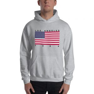 mockup 0032def8 300x300 - Los Angeles 1984 Flag  Hooded Sweatshirt