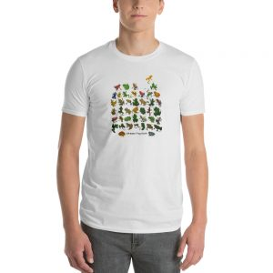 mockup 008844ab 300x300 - Ultimate Frog Guide T Shirt