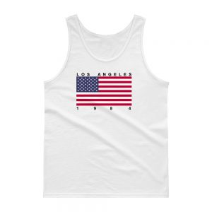 Los Angeles 1984 Flag tank top