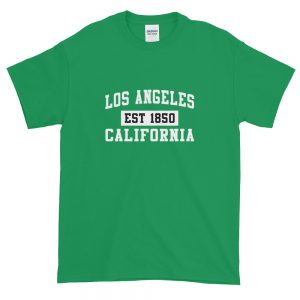 Los Angeles California Est 1850 Popular LA Short Sleeve T Shirt