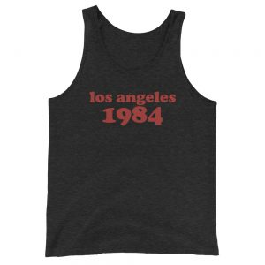 Los Angeles 1984 Unisex  Tank Top