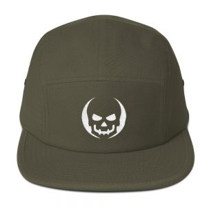 mockup 3cd86de5 300x300 - Skull halloween costumes Five Panel Cap