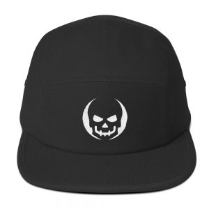 mockup 54d60d12 300x300 - Skull halloween costumes Five Panel Cap