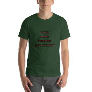 Anti Racism Bigotry Patriarchy White Supremacy T Shirt