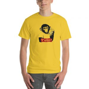mockup 6a001f3d 300x300 - Monkey With Banana Short-Sleeve T-Shirt