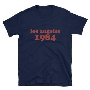 mockup bc051686 300x300 - Los Angeles 1984 Short-Sleeve Unisex T-Shirt