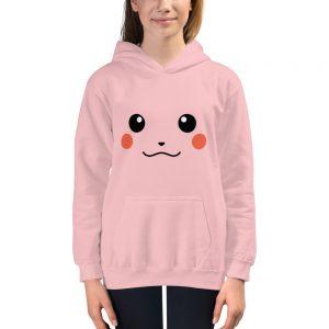 mockup c6b2f35d 300x300 - Pikachu Face Kids Hoodie