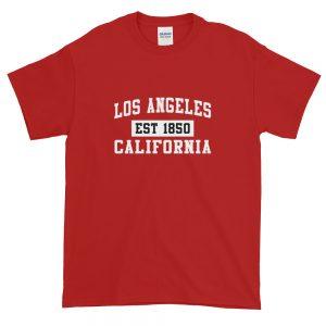 mockup f118f3b8 300x300 - Los Angeles California Est 1850 Popular LA Short-Sleeve T-Shirt