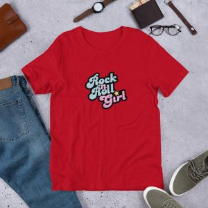 Rock n Roll Girl T Shirt