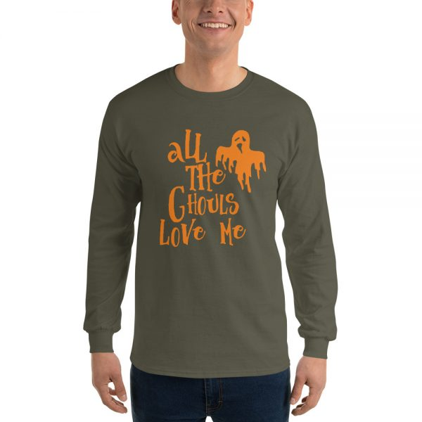 All The Ghouls Love Me 2 Long Sleeve T Shirt